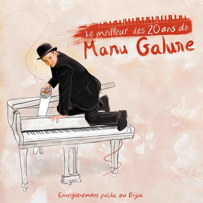 Pack Manu Galure : 2 premiers albums